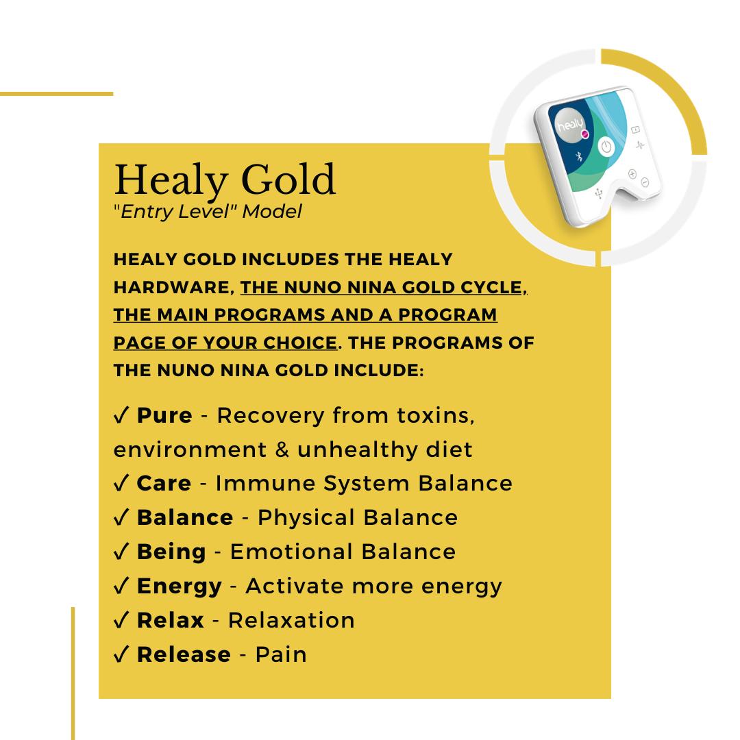 Healy Gold Model Description