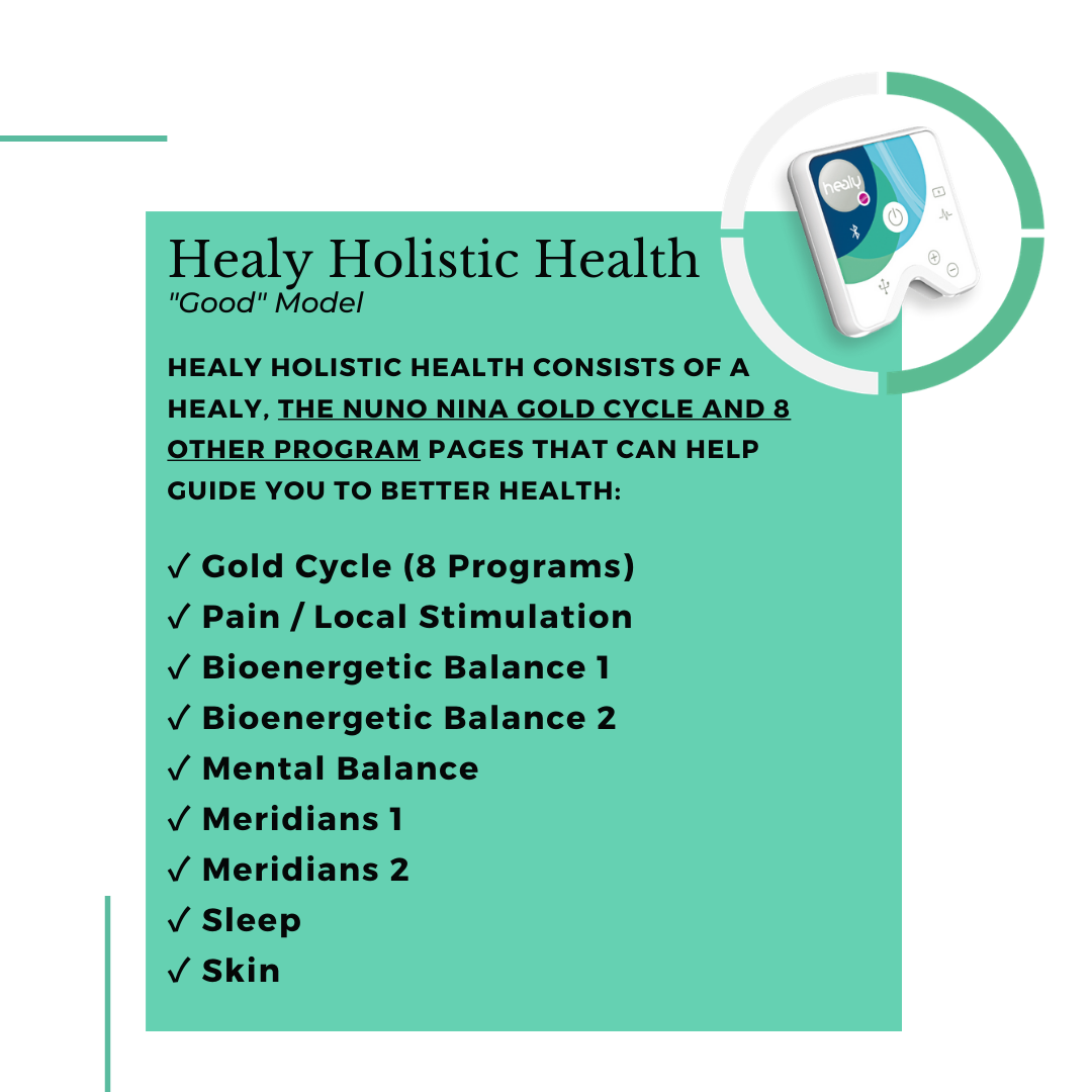 Healy Holistic Health Description