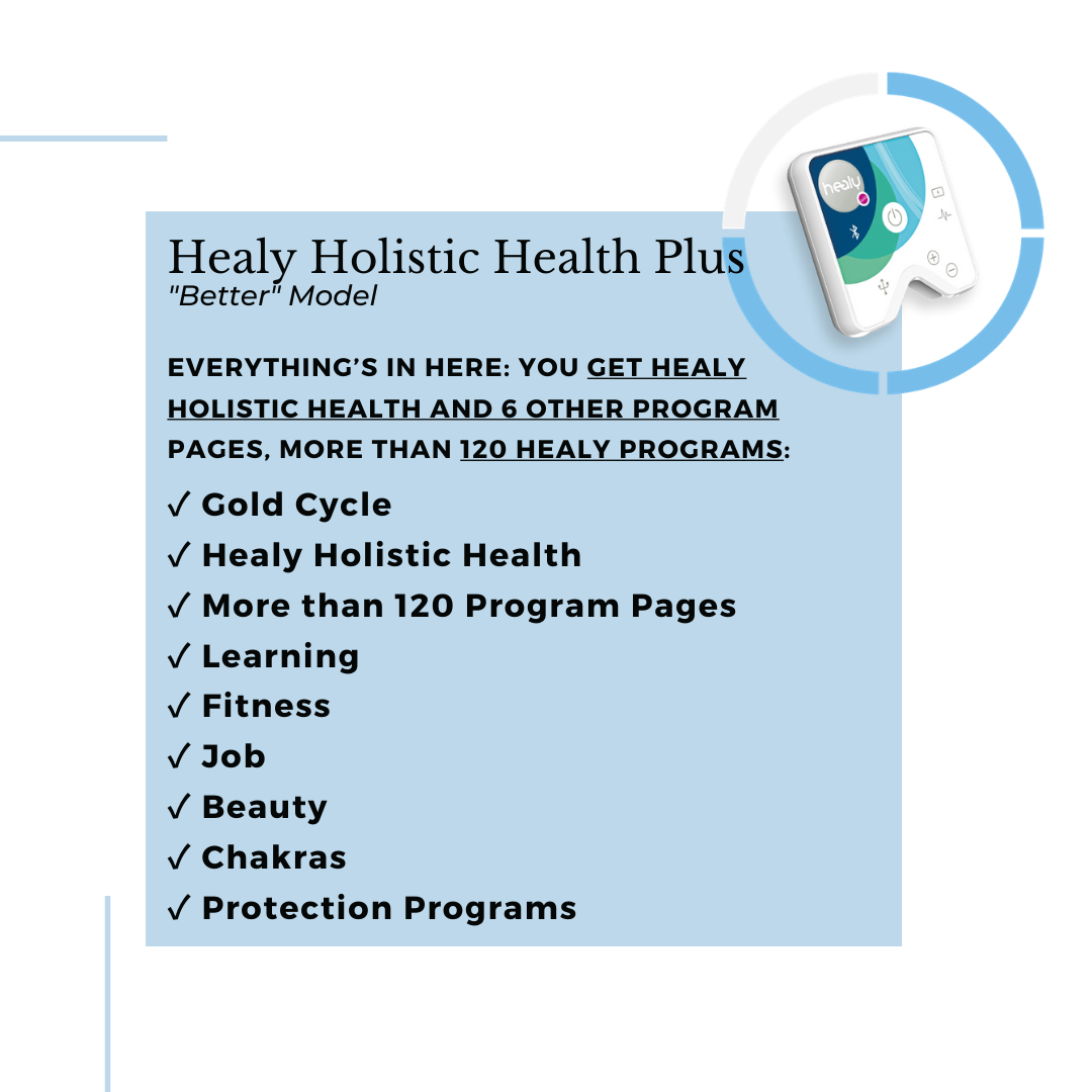 Healy Holistic Health Plus Description